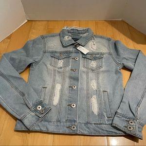 NWT women's jean jacket